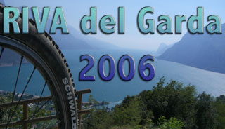 Mountainbiken in RIVA del GARDA - 2006